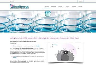 Création du site web Inatherys