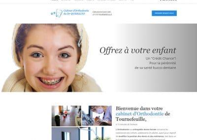 Refonte du site du cabinet d'orthodontie
